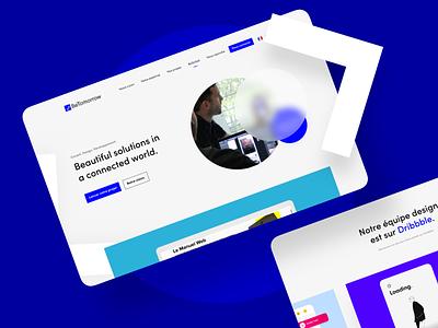BeTomorrow.com 💙 web betomorrow development app illustration ux ui website branding interface design 2021