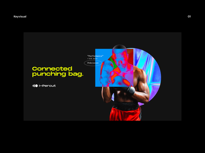 Brand exploration (keyvisual) 🥊 mockup interface poster ux keyvisual boxing 3d identity logo design app ui branding irridescent gradient brand