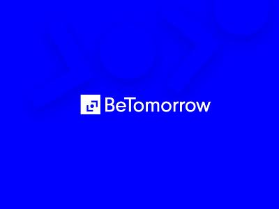 BeTomorrow logo animation 🤘 uidesign bounce aftereffect illustration trend agency ui circle branding animation logo