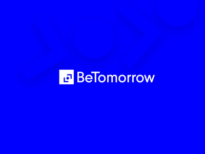 BeTomorrow logo animation 🤘