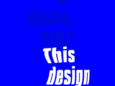 Text animation experimentation 🔵 design art message design lockscreen typeface brutalism ui animation logo branding typography