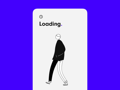 loading screen concept 🔵