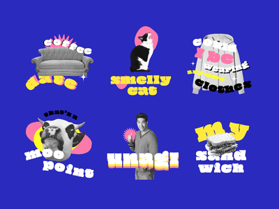 F.R.I.E.N.D.S Quotes - GIF Stickers for GIPHY & Instagram