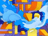 Cloud Bank Illustration 02