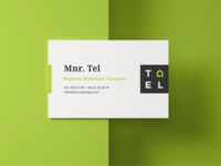 Business card of Tel