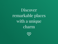 Discover remarkable places