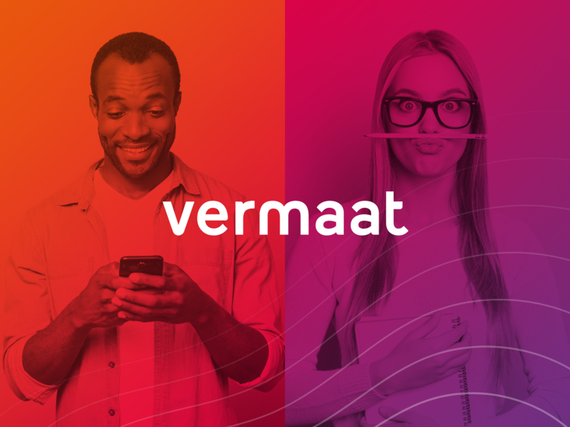 e-Learning Vermaat visual ui creative colorful identity learning app responsive tablet module design e-learning