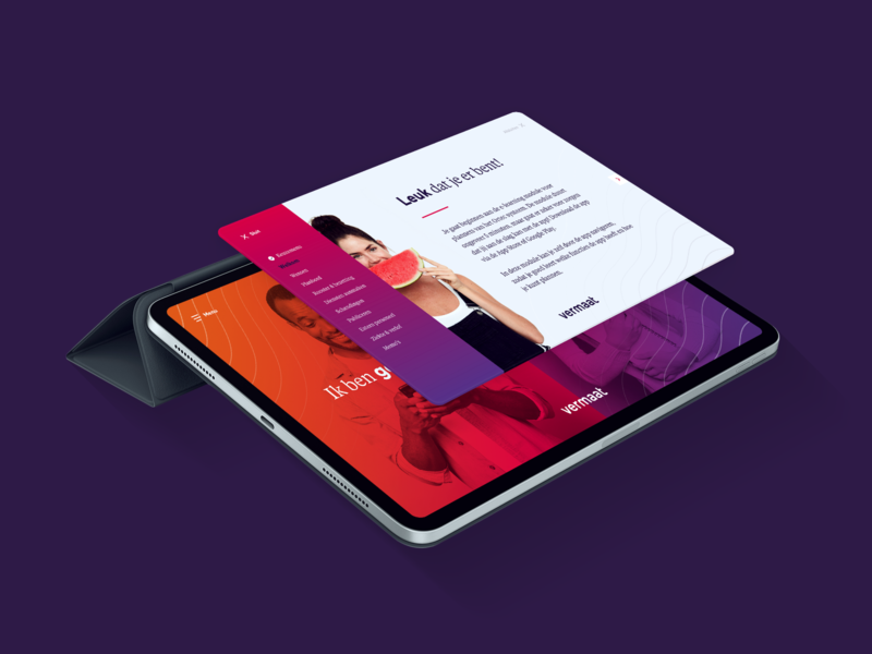 Responsive e-Learning visual ui creative colorful identity learning app responsive tablet module design e-learning