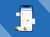 IndieFood App User Interface
