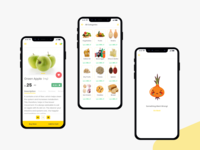 Groceee app - Product, Categories & Error
