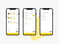 Groceee app - Payment Flow