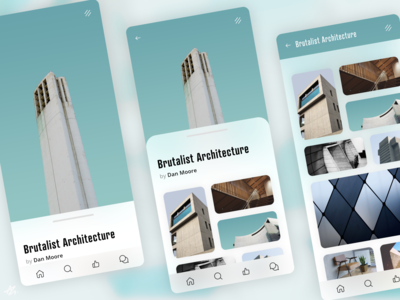 Architecture Gallery · Concept app
