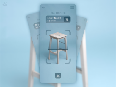 Product scanner · UI concept