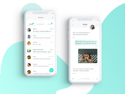 Daily UI #013 Direct Messaging chat mobile design chat direct messaging mobile messaging ui daily 13
