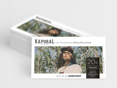 Flyer for Kaporal