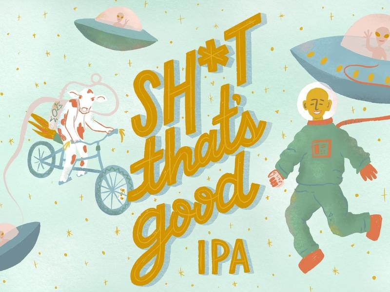 Beer Label labeldesign design logo illustration