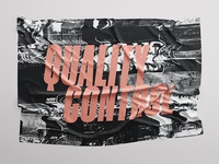 Quality Control Soft Poster
