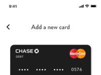 Add a new card