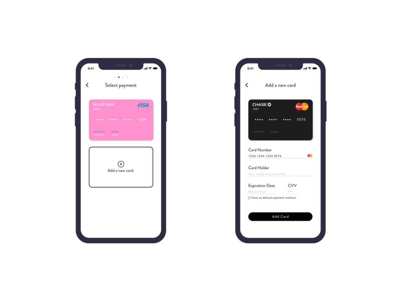 Credit Card Checkout #DailyUI payment mobile ui credit card iphone x dailyui
