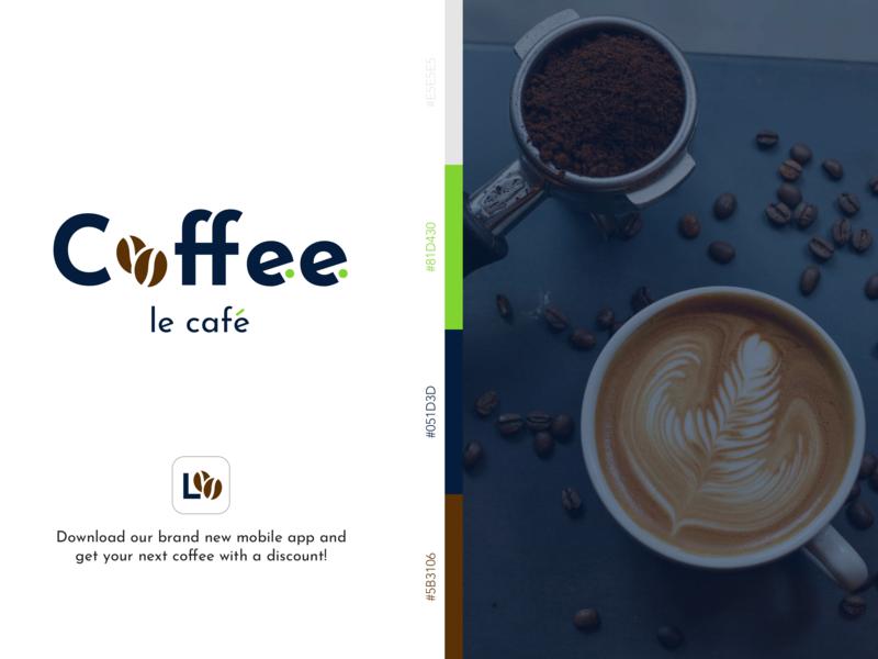 Coffee Shop Logo #DailyUI redesign branding icon coffeeshop logo dailyui