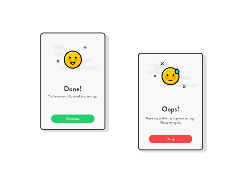 Flash Message #Daily UI popup flash message mobile ui dailyui