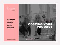The Scene - Concept Web Design