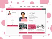 Daily UI Design Challenge - 006 - User Profile