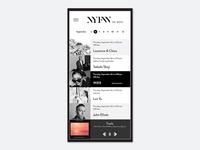 Daily UI Design Challenge - 009 - Music Player