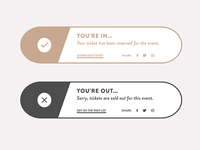 Daily UI Design Challenge - 011 - Flash Message