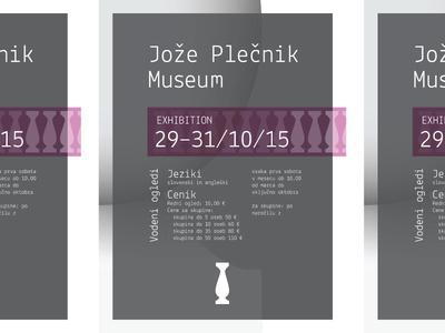 Joze Plecnik Museum Poster
