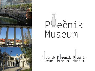 Joze Plecnik Museum Logo a designer in europe slovenia ljubljana columns