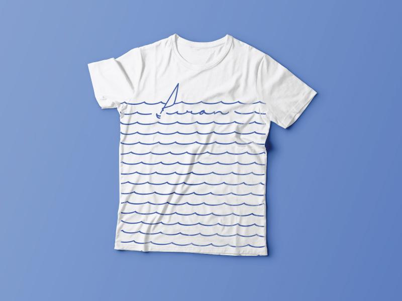 Piran T-shirt a designer in europe adriatic coast slovenia piran