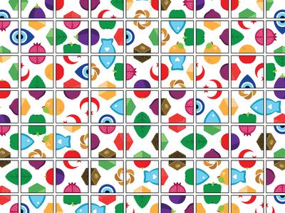 Istanbul Cooking School Tiles