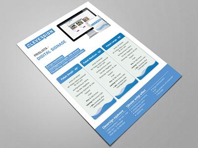 Corporate Digital Flyer unique stylish modern clean creative business elegant professional flyer flyer design