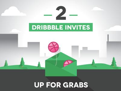 Dribbble invite shot
