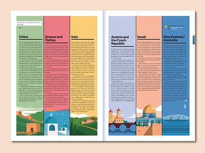 Wheaton Magazine Editorial Illustration wheaton travel editorial design illustration