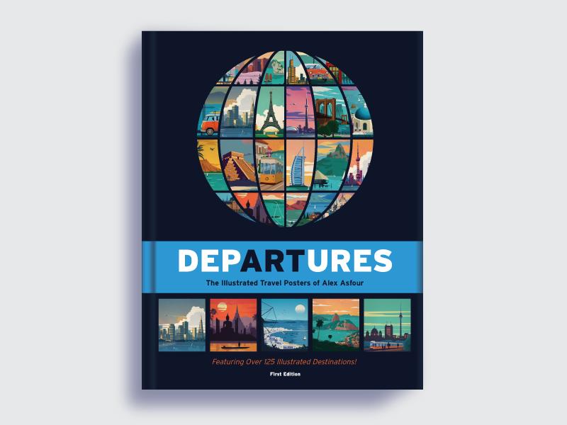 Departures book dribbble shot