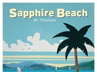 Sapphire beach print final print    smaller wm