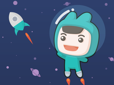 Little Tuan in Space