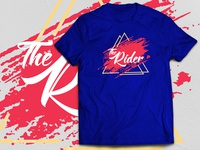 The Rider_ Royal blue