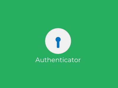 Authenticator Concept Logo