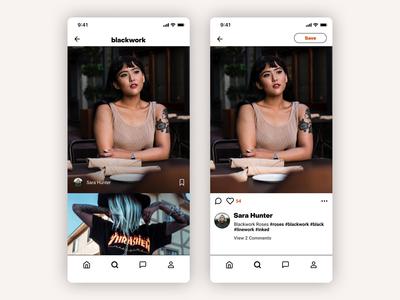 Inktank - Tattoo Social App - UI