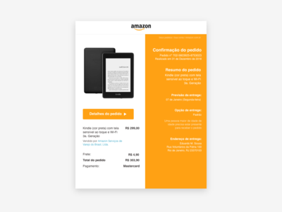 Daily UI 017 :: Email Receipt