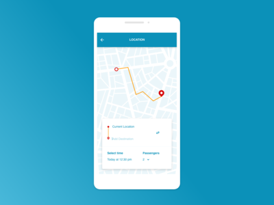 Daily UI 020 :: Location Tracker