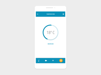 UI Daily :: 021 Home Monitoring Dashboard