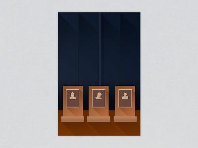 Minimalist Yankee Stadium - New York Yankees minimalist minimalist-art illustrator photoshop stadium ballpark art architecture sports baseball
