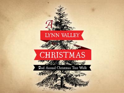 Logo for a Christmas Tree Event