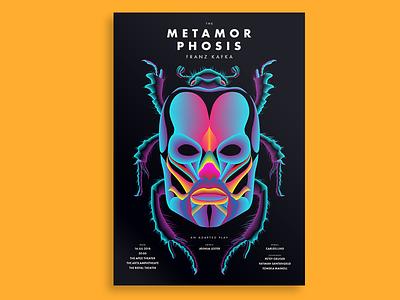 The Metamorphosis metamorphosis print color design poster