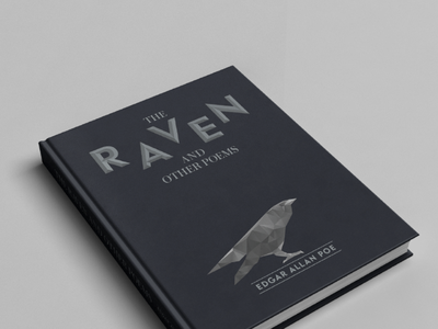 The Raven raven illustration cover book