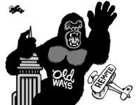 REMOTE llustration: King Kong Old Ways